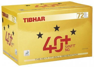 Tibhar *** Ball 40+ SYNTT NG 72er Packung